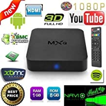 MXQ Amlogic S805 Quad Core Android TV Box Android 4.4 Kitkat 1080p HIMI 1GB/8GB Smart Streaming Media Player