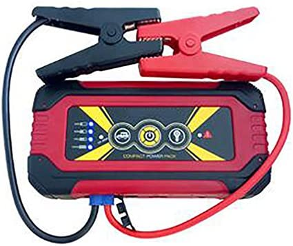 Portátil Diesel 12V 600A/900A Car Power Booster Gasolina Diesel Car-Stlying Car Jump Starter,Red