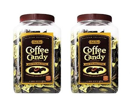 Balis Best Assorted Coffee Candy Jar, 300ct Jar (Pack of 2) by Bali's Best