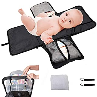 Baby Portable Diaper Bag+Universal Baby Bed Net + 2 Hooks for Mother Bag Diaper pad, Portable Changing Pad,Baby Home Travel Insulation pad