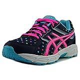 ASICS GEL-Contend 3 GS Running Shoe (Little Kid/Big Kid), Indigo Blue/Pink Glow/Aquarium, 5.5 M US Big Kid