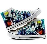 Naruto Anime Uzumaki Naruto Uchiha Sasuke Gaara Cosplay Shoes Canvas Shoes Sneakers