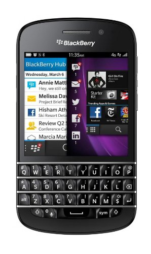 Blackberry Q10 SQN100-1 16GB 4G LTE Unlocked GSM Dual-Core OS 10 Smartphone - (Boost Mobile Phone Blackberry)