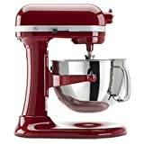 KitchenAid KP26M1XER Professional 600 Series 6-Quart Bowl-Lift Stand Mixer, Empire Red