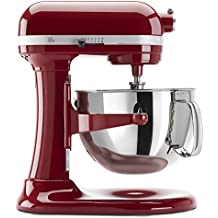 KitchenAid KP26M1XER 6 Qt. Professional 600 Series Bowl-Lift Stand Mixer - Empire Red