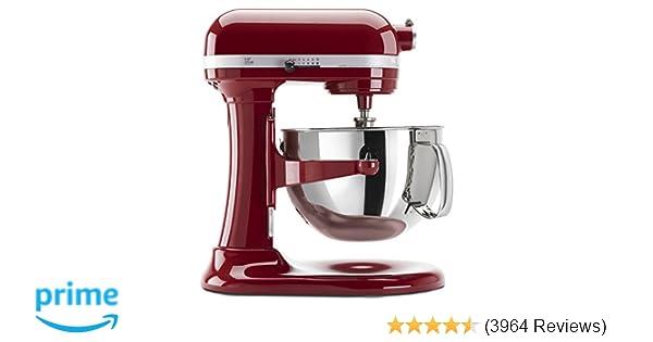 Amazon.com: KitchenAid KP26M1XER 6 Qt. Professional 600 Series Bowl on 6 qt kitchenaid mixer size, 6 qt kitchenaid pasta maker, 6 qt kitchenaid mixer cover, 6 qt kitchenaid stand mixer,