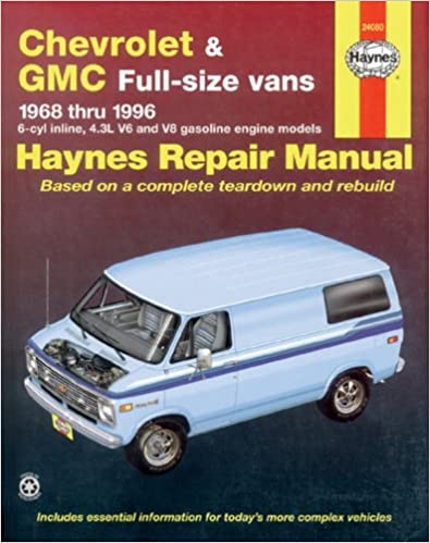 Chevrolet vans 6896 haynes repair manuals haynes 9781563921971 chevrolet vans 6896 haynes repair manuals 1st edition fandeluxe Gallery