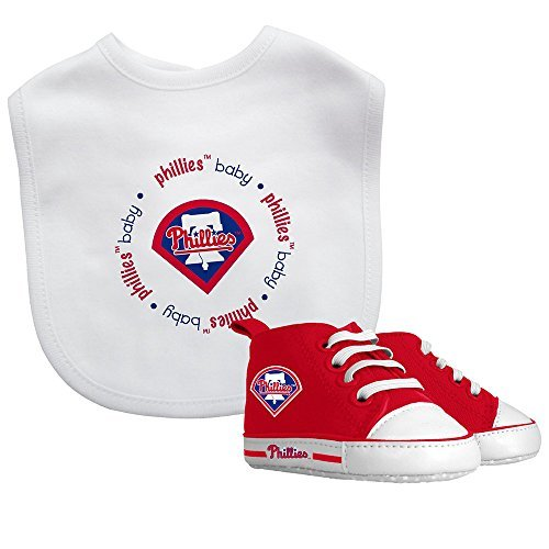 Baby Fanatic Bib with Pre-Walkers, Philadelphia Phillies by Baby - Shopping Mall Philly