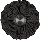 Waterwood Solid Brass Maya Doorbell in Black