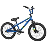 Mongoose Boy's Scan Bicycle, Matte Blue, 18-Inch