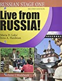 img - for Russian Stage One: Live from Russia: Volume 2 (The Russian-American Collaborative Series: Russian Stage One) book / textbook / text book