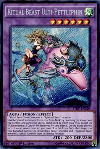 Yu-Gi-Oh! - Ritual Beast Ulti-Pettlephin (THSF-EN029) - The Secret Forces - Unlimited Edition - Secret Rare