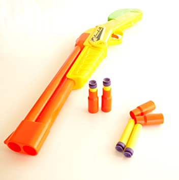 Double Barrel Shot Gun - Foam darts ( NERF STYLE )