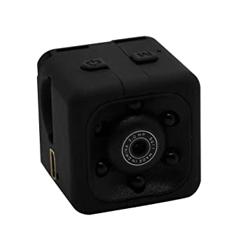 AIflyMi 1080P HD Cámara Vigilancia Portátil Secreta Compacta,Mini Vigilancia Cámara Oculta Gran Angular Videocámara de Seguridad Portátil DV Pequeña Cámara: ...