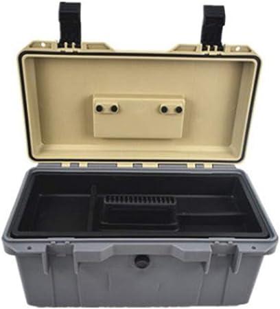 Caja de herramientas vacía para geocaching, caja de herramientas de reparación, caja de herramientas impermeable, maletín de herramientas, caja de herramientas, caja de juntas, maletín de plástico antigolpes, parte de arranque, caja