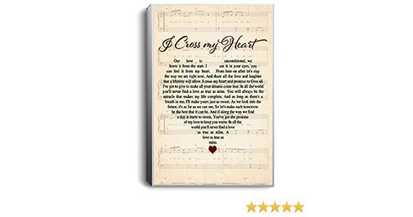 Check Yes Or No George Strait Lyrics Heart Portrait Poster No Frame