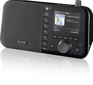 avox indio color internetradio with 35quot display - Avox Indio Color