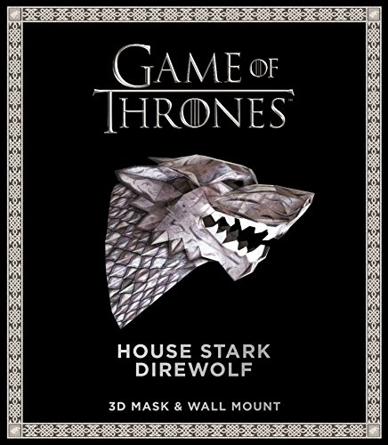 Game of Thrones Mask: House Stark Direwolf (3D Mask & Wall Mount) ()