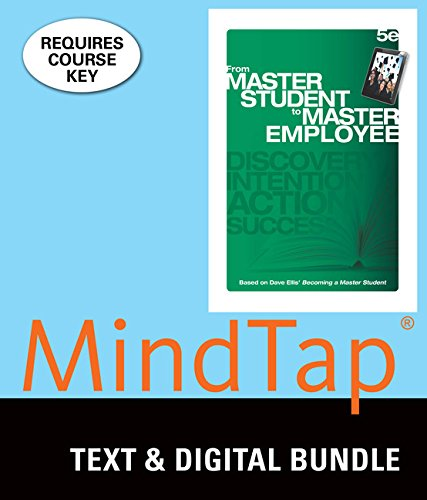 Bundle: From Master Student to Master Employee, Loose-leaf Version, 5th + MindTap College Success, 1 term (6 months) Printed Access Card