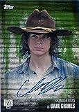 Walking Dead Season 6 Autograph Card Chandler Riggs as Carl Grimes 14/25 Mold