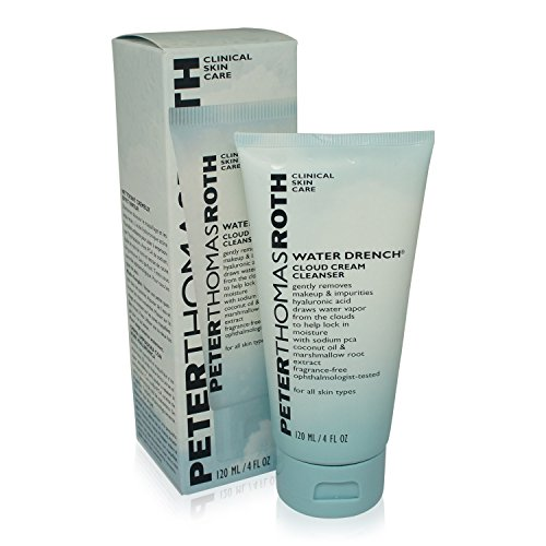 Peter Thomas Roth Water Drench Cloud Cream Cleanser, 4 Fluid Ounce