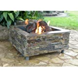 Firescapes The Virginian Square Natural Gas Fire Pit