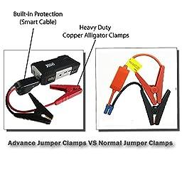 JACO BoostPro Car Battery Jump Starter - Portable Power Bank - 600A Peak/16500mAh