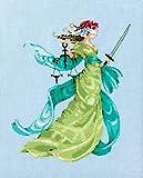 Mirabilia Nora Corbett Cross Stitch Chart Lady