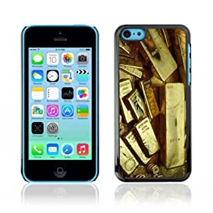 MMZ DIY PHONE CASEYOYOSHOP [Gold Bars] Apple ipod touch 5 Case