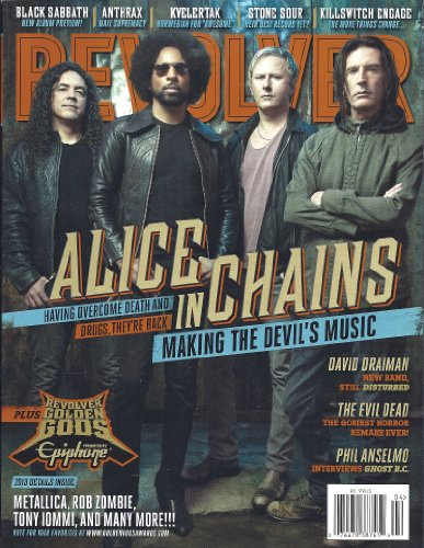 Revolver Magazine (April/May 2013 (Alice in Chains (Magazine Revolver)