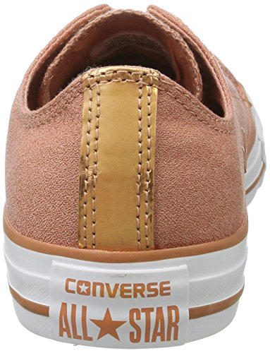 Converse Chuck Taylor All Star Brush Off - Zapatillas Mujer Salmón