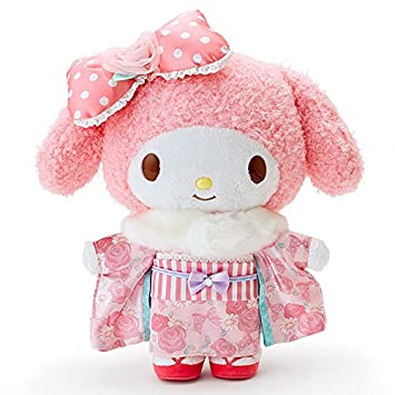 Sanrio store My Melody kimono stuffed plush kawaii 2016 NEW Japan Import