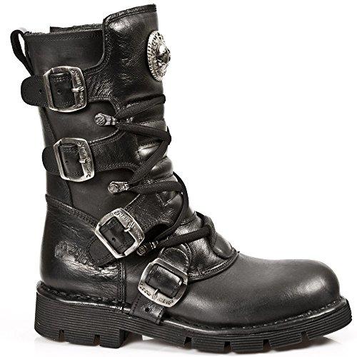 1473 Unisex Black Adults' Noir Boots S1 M New Rock PIx4EEz