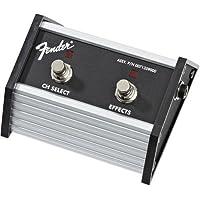 Interruptor de pie de 2 botones Fender: selección de canal /efectos activados /desactivados