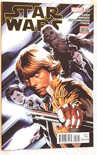 1 Star Wars #12 Comic Book - Marvel Comics 2016 - UNCIRCULATED Grade 9.8 - FIRST PRINTING