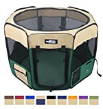 Best Pet Play Yards - EliteField 2-Door Soft Pet Playpen, Exercise Pen, Multiple Review