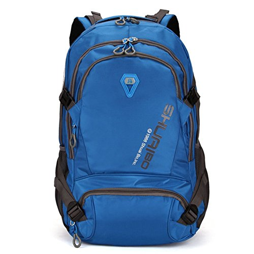 ProEtrade Multipurpose Large Oversize Waterproof Travel Outdoor School Backpack (Blue)