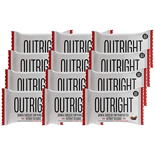 Outright Bar | 12 Pack – Peanut Butter Oatmeal Chocolate Chip