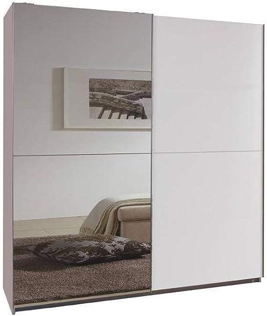 Inside Dressing de Puertas correderas Clapton 180 cm Negra Blanco ...
