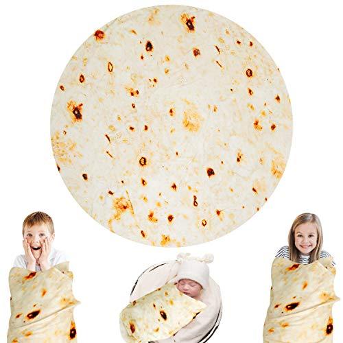 Lhedon Burritos Blanket Kids