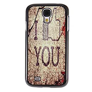 Bkjhkjy Fxck You Pattern Mirror Smooth Back Hard Case with HD Screen Film 3 Pcs for Samsung Galaxy S4 I9500