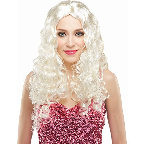 "Price comparison product image 30"" Long BLOND STARLET WIG"