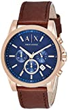 Armani Exchange Men's AX2508 Brown Leather Watch