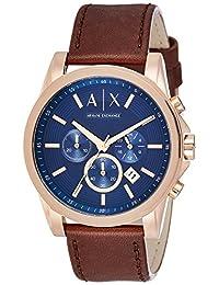 Armani Exchange Men's AX2508 Outer Banks Analog Display Quartz Brown Watch