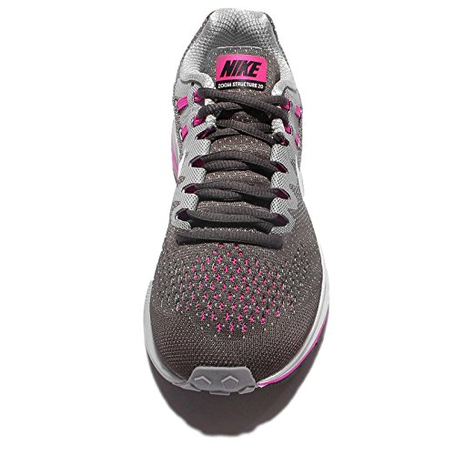 Multicolore running Femme Fire Nike Wolf White 5 Anthracite 849577 Pink Grey trail de 006 Chaussures 35 SqX70waCX