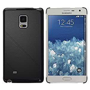 Paccase / SLIM PC / Aliminium Casa Carcasa Funda Case Cover - Black leather - Samsung Galaxy Mega 5.8 9150 9152