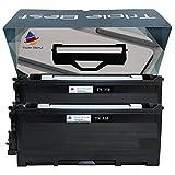 Triple Best 2 Pack Compatible TN350 Laser Toner Cartridge for Brother HL-2040 HL-2070N DCP-7020 MFC-7420 MFC-7820 MFC-7220 IntelliFax 2920 MFC-7225N IntelliFax 2910 MFC-7820N DCP-7010 DCP-7025