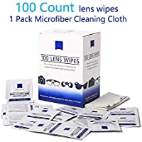 Lens Wipes - Suitable for Eyeglasses, Cellphones,...