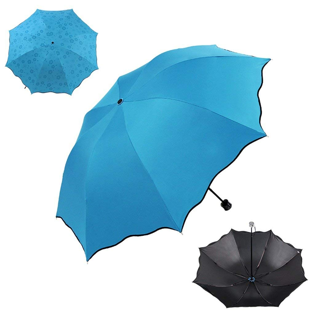 GONGFF Parapluie et Protection Solaire Pliante UV Creative Business Couleur: A