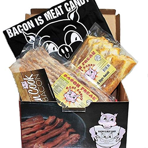 Bacon Freak Uncured Nitrate Free Bacon of the Month Club (Small) (Best Bacon Of The Month Club)